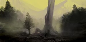 Ancientwoods by Lakkae
