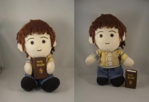 Sam Winchester plush commish by pandari