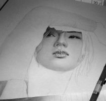 9th Drawing 2010 WIP1 by KLSADAKO