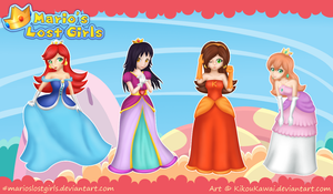 Mario's Lost Girls - Group 1 by CutyAries