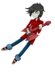 Marshall Lee (Animation) by BorderlineCloud