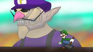 Attack on Luigi by RatsuTerra48