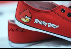 Angry Bird Shoes by Londonya
