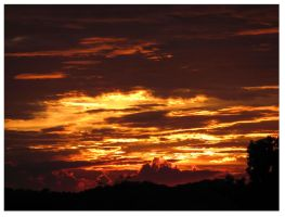 July Sunset 2012 by CrystalMarineGallery