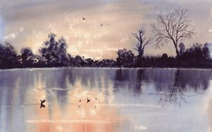 All the ducks are swimming in the water, tra la la by Stu7art