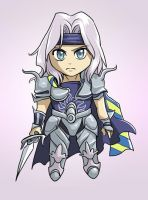 Chibi Cecil by glance-reviver