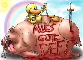 David Fueleki aka DEF Geburtstagsbild by blue-hugo