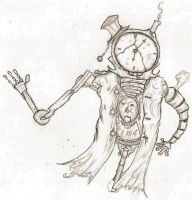 clock man by Voldo-and-his-Shadow