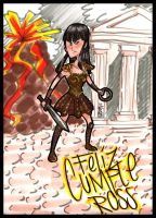 xena for ross by Albert-Lopez