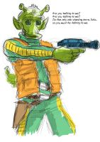 Greedo Rough by ajaxyomama