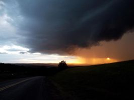 Storm Approaching during the Transit of Venus by tothethirdbar