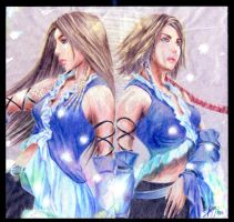 FFX2 - Yuna and Lenne by kasaikun16