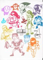 Nintendo by theartistshoto
