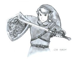 Legendary Link by caringcarrot