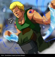 Guile (Street Figther) by Kazemb