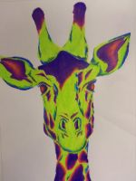 Giraffe by AlliOK