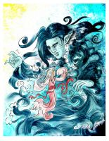 Sea God by laoan