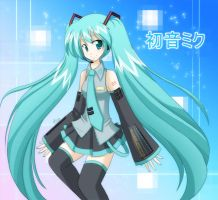 Vocaloid- Hatsune Miku by Hirahime