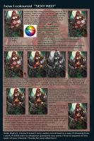 How I coloured Sexy Red by IvannaMatilla
