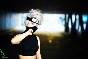 Kakashi no sexy jutsu cosplay2 by alilice