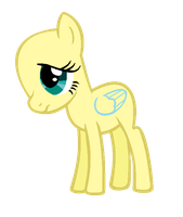 MLP Base- Thin Filly by alari1234-Bases