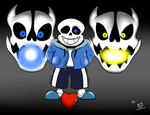 Sans Bad Time by IceBreak23