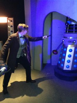 Eleventh Doctor Action Shot by Dogtorwho