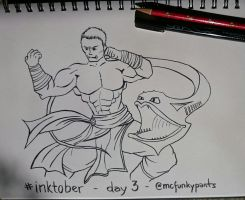 #inktober 2015 day 3 by McFunkypants