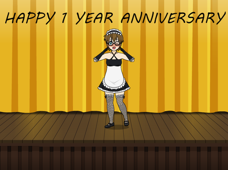 HAPPY 1 YEAR by clawssac