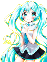 Miku Chan by MikiClover