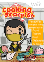 The Ninja Who Can Cook by BrokenTeapot