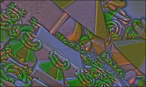 Mandelbulb abstract by GLO-HE