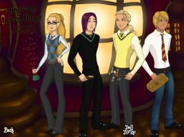 WHITL in Hogwarts by Isika