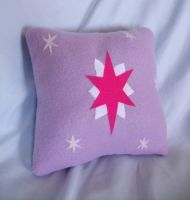 Small Twilight Sparkle Pillow by CynicalSniper