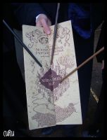 the marauder's map by ECDLE-Cosplay