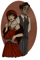 Vintage Contest: The Horehound Siblings by OwlBeAwkward