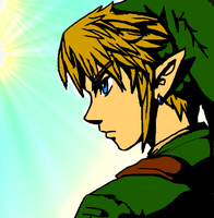 Paint Link colored by Lamberblamber