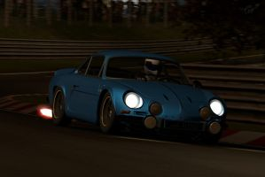 '72 Renault Alpine A110S 1600 by jmig3