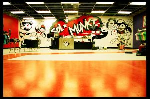 Sol Munki shop interior by mrwestattoo