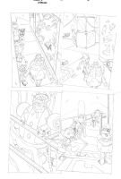Sonic x #40 pg 14 by Dhutchison