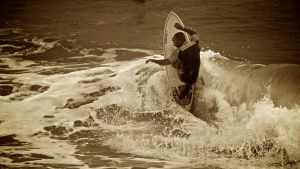 Surfing In Anglet 5 by Abylone