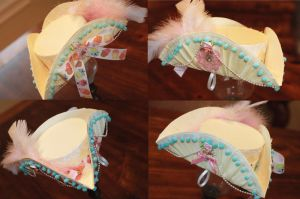 Butter Cream Tricorn by NoFlutter