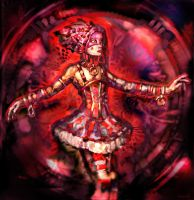 Painted Dancer by turbinedivinity