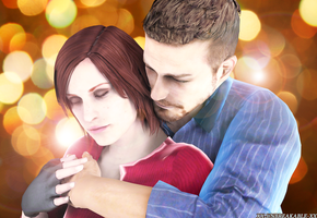 Resident Evil Cleil-Claire x Neil by xx-unbreakable-xx