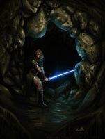 Lost in Dagobah by SalvadorTrakal