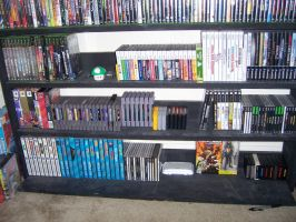 Video Game Collection BOTTOM by XxSwitchxX