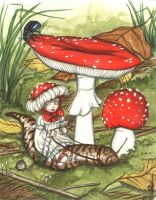 .:: The Amanita's ride ::. by Maiwenn