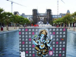 FAKE At Museumplein Amsterdam by fakestencils