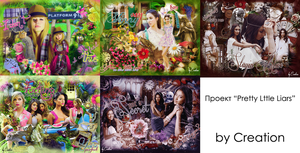 Pretty Little Liars project by byCreation