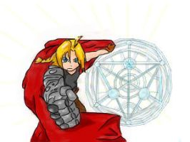 Edward Elric Colored by AustralAnima